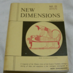New Dimensions no 15 Autumn 1965  magazine